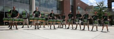 drummers drumming, day two.