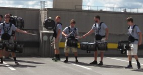 two players, one drum
