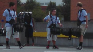 snare drummers shows a quad what's up