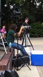 video crew get the shot
