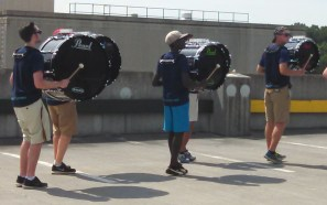 bass line in a staggered picture
