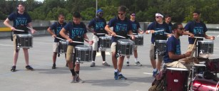 snare break package with drumset