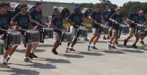 snares and bass line on the move
